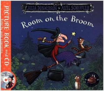 Room on the Broom, w. Audio-CD - Julia Donaldson