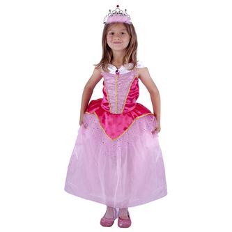 Dětský kostým Princezna růžová (S)