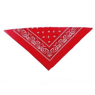 Šátek červený , 53x53 cm