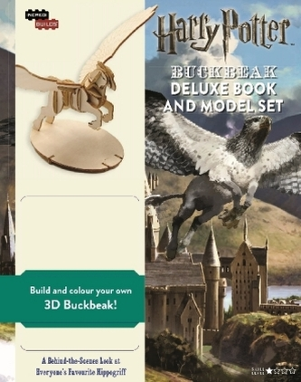 Harry Potter: Buckbeak Deluxe Book and Model Set - Warner Brothers Studio