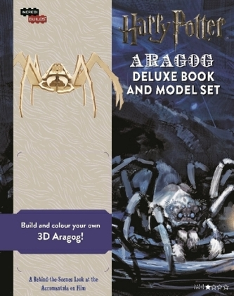 Harry Potter: Aragog Deluxe Book and Model Set - Warner Brothers Studio