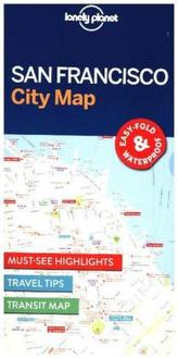 Lonely Planet City Map San Francisco