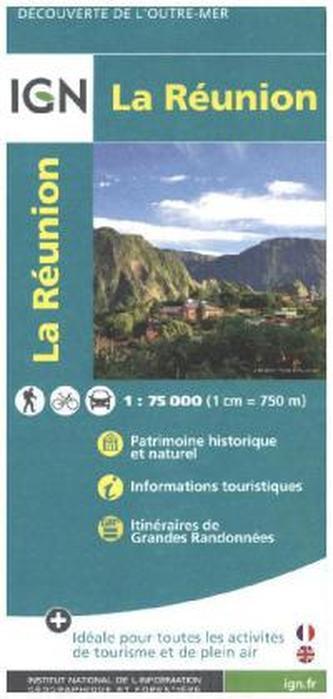 IGN Karte, Découverte de l'outre-mer La Reunion