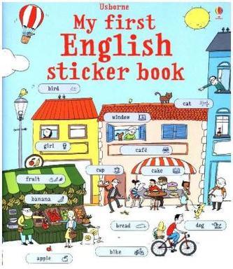 My First English Sticker Book - Meredith, Sue