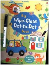 Big Wipe Clean Dot-to-Dot Book, w. pen