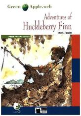 The Adventures of Huckleberry Finn, w. Audio-CD