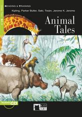 Animal Tales, w. Audio-CD