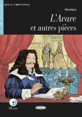 L'Avare et autres pièces, m. Audio-CD