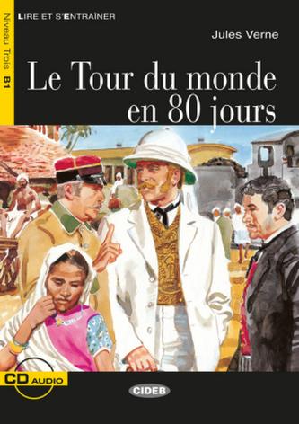 Le Tour du monde en 80 jours, m. Audio-CD - Verne, Jules