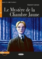 Le Mystère de la Chambre Jaune, m. Audio-CD
