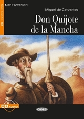 Don Quijote de la Mancha, m. Audio-CD