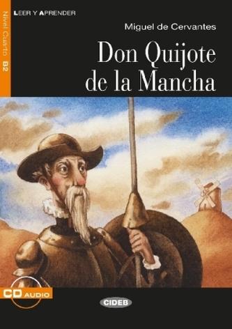 Don Quijote de la Mancha, m. Audio-CD - Miguel de Cervantes Saavedra