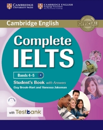 Complete IELTS - Bands 4-5 B1. Student's Book with answers, with CD-ROM and Testbank - Brook-Hart, Guy