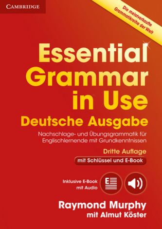 Essential Grammar in Use, Deutsche Ausgabe - Murphy, Raymond