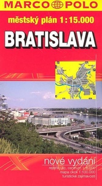 Bratislava 1:15 000