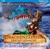 Drachenzähmen leicht gemacht - Im Auge des Drachenturms, 3 Audio-CDs