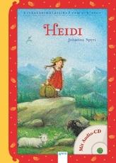 Heidi, m. Audio-CD