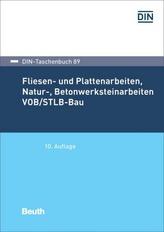 Fliesen- und Plattenarbeiten VOB/STLB-Bau