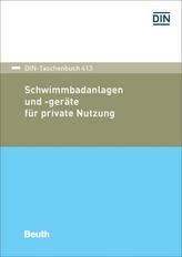 Schwimmbadanlagen und -geräte für private Nutzung
