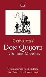 Don Quijote von der Mancha, 2 Bde.. Tl.1+2