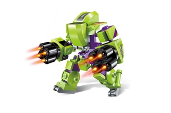 Qman Pioneer Police-Apocalypse 1802-2 Robot Armored Trooper