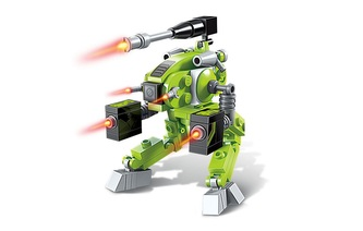 Qman Pioneer Police-Apocalypse 1802-3 Robot High-Power Battery