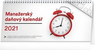 Kalendář 2021 stolní: Manažerský daňový, 33 × 14,5 cm