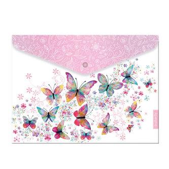 Plastový obal A4 s drukem Butterfly