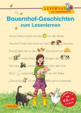 Bauernhof-Geschichten zum Lesenlernen