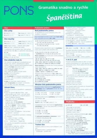 Gramatika snadno a rychle Španělština