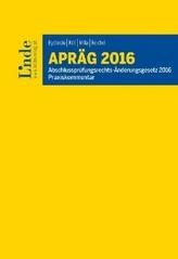 APRÄG 2016, Praxiskommentar (f. Österreich)