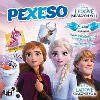 Ledové království II - Pexeso v sešitu