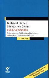 Tarifrecht für den öffentlichen Dienst Bund/Gemeinden