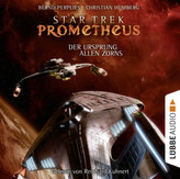 Star Trek Prometheus - Der Ursprung allen Zorns, 8 Audio-CDs