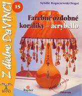 Farebné ozdobné koráliky - acrybello