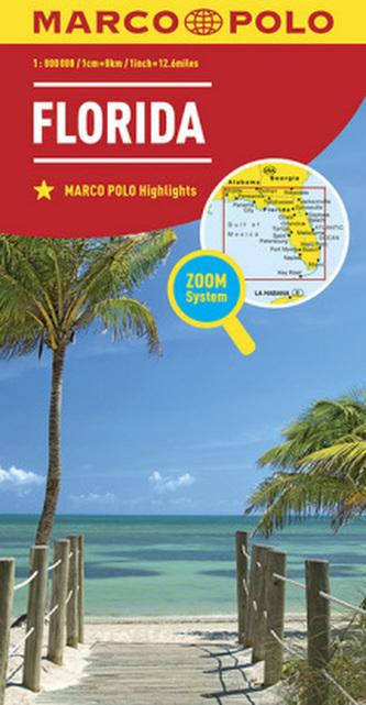 MARCO POLO Länderkarte Florida 1:800 000