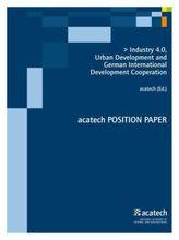 Industry 4.0, Urban Development and German International Development Cooperation