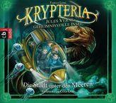 Krypteria - Jules Vernes geheimnisvolle Insel - Die Stadt unter den Meeren, 1 Audio-CD