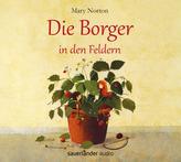 Die Borger in den Feldern, 5 Audio-CDs