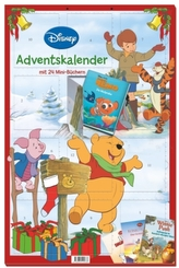 Disney Minibuch-Adventskalender 2016