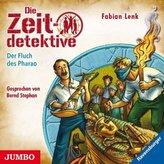 Die Zeitdetektive - Der Fluch des Pharao, 1 Audio-CD