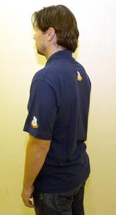 RK tričko modré pánské L