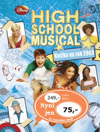High School Musical Knížka na rok 2009