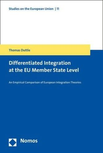 Differentiated Integration at the EU Member State Level
