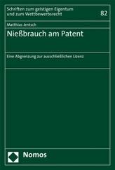 Nießbrauch am Patent