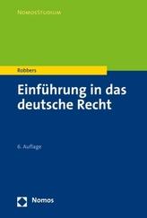 Einführung in das deutsche Recht