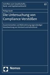 Die Untersuchung von Compliance-Verstößen