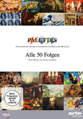 PALETTES - alle 50 Folgen, DVD
