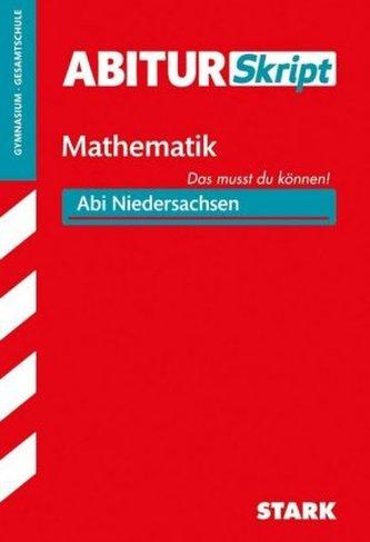 AbiturSkript Mathematik, Abi Niedersachsen