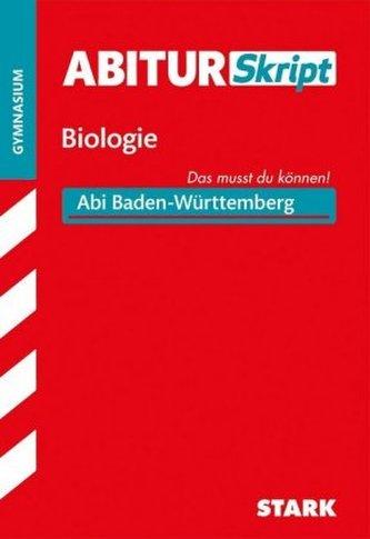 AbiturSkript Biologie, Gymnasium Baden-Württemberg